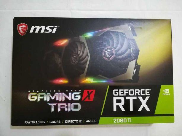 MSI GeForce RTX 2080ti Gaming X Trio 11GB