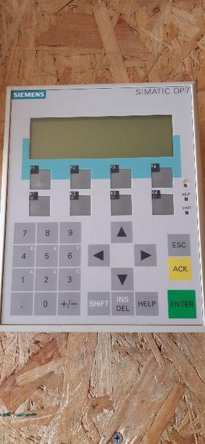 6AV3 607-1JC20-0AX1 Panel OP 7-DP