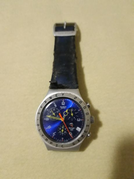 Relogio swatch cronografo comemorativo jogos olimpicos de Sidney 2000