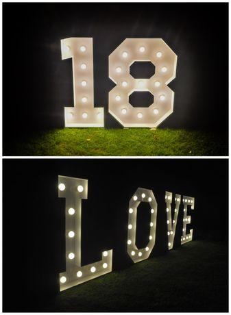 Napis LOVE / 18 - Wynajem
