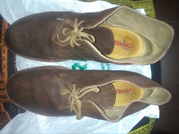Ботинки туфли дезерты десерты Кларкс 43 44 Clarks мужские оригинал