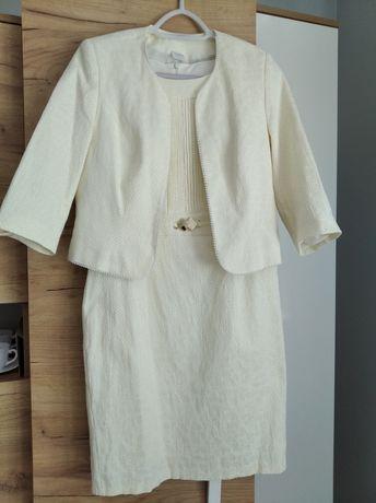 Sukienka damska + żakiet L/XL