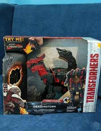 Трансформеры: Последний рыцарь Mega Dragonstorm 1-Stage Turbo Changer