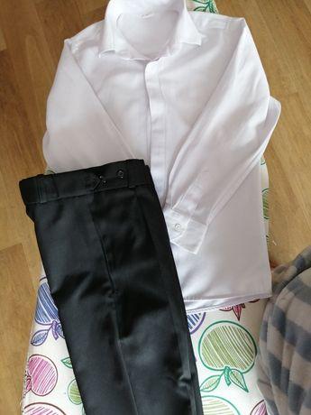 Koszula i spodnie eleganckie komunijne
