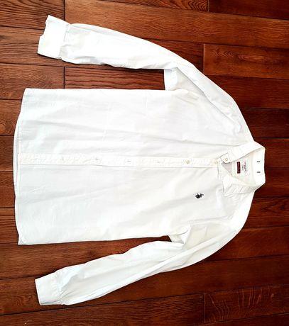 Koszula męska biała Polo U.S. POLO ASSN. XL