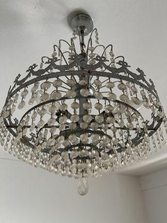 Candeeiro de Cristais, 4 lampadas