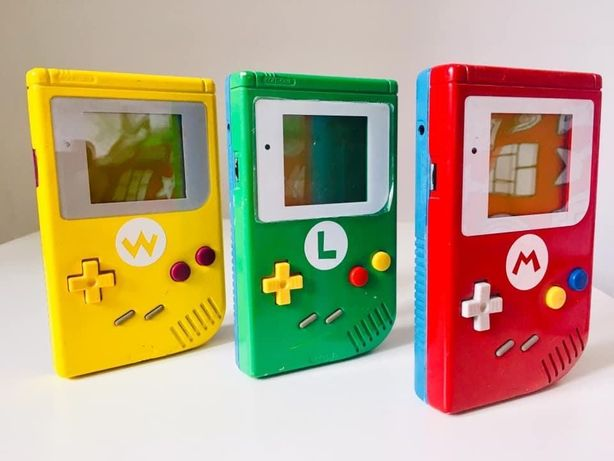 Nintendo Gameboy - Edição Super Mario; Luigi; Wario