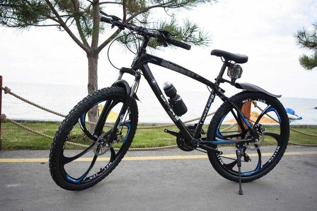СУПЕР-КРУТОЙ! Велосипед на литых дисках нa литыx диckax БМВ, BMW ОПТ