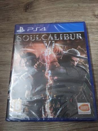 Gra PlayStation 4 SOUL CALIBUR VI PL PS4 Nowa w folii
