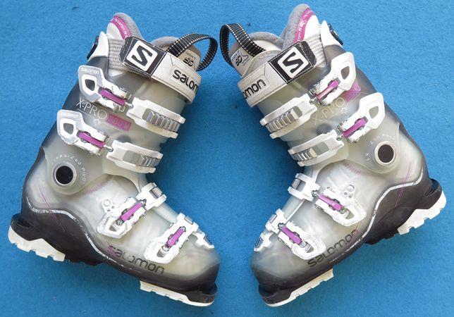 Buty narciarskie SALOMON X PRO R80 W 24,5 38,0 damskie używane