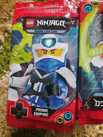 Saszetki Lego ninjago seria 5 polska oraz next level niemiecki zestawy