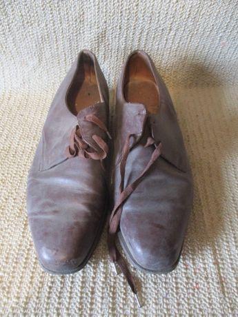 Galowe buty wojskowe kapitana PRL