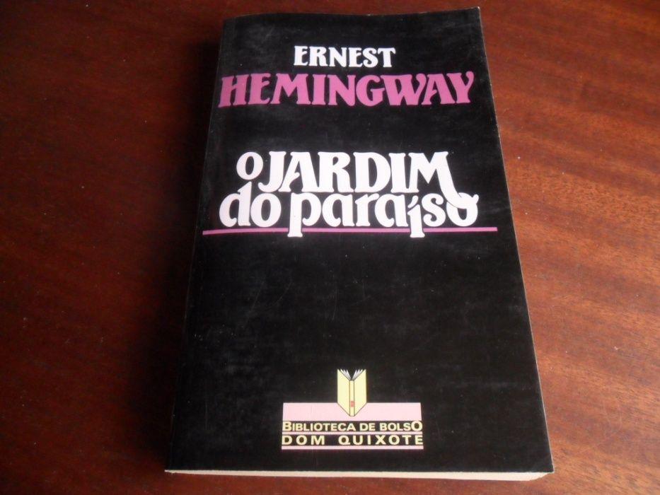 """""""O Jardim do Paraíso"""" de Ernest Hemingway"""