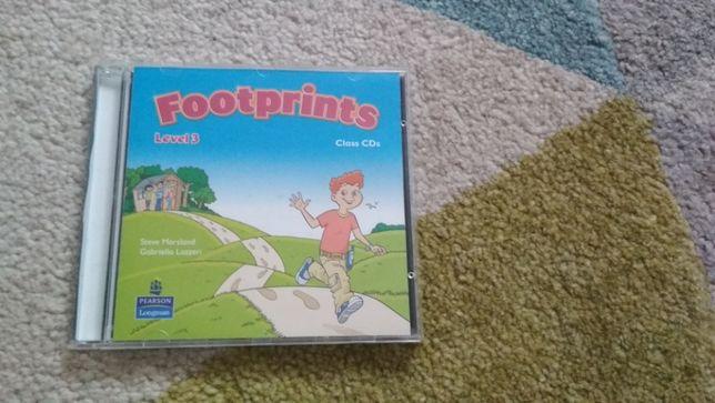 Footprints 3, płyty CD, materiał do podręcznika nagrania nauczyciela