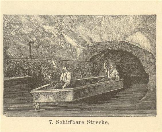 Kopalnia - Górnictwo reprodukcje XIX w. grafik do aranżacji wnętrza