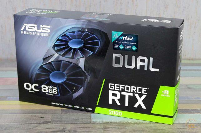 ASUS Dual GeForce® RTX 2080 OC edition