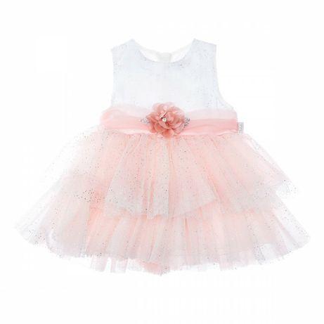 Новое нарядное пышное платье на девочку 1-2 года, рост 86-92 см