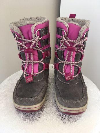 Rewelacyjne zimowe buciki firmy Timberland, roz. 24