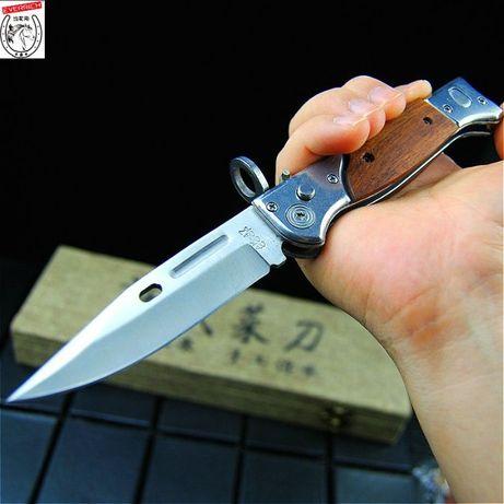 Карманный туристический складной нож АК 47