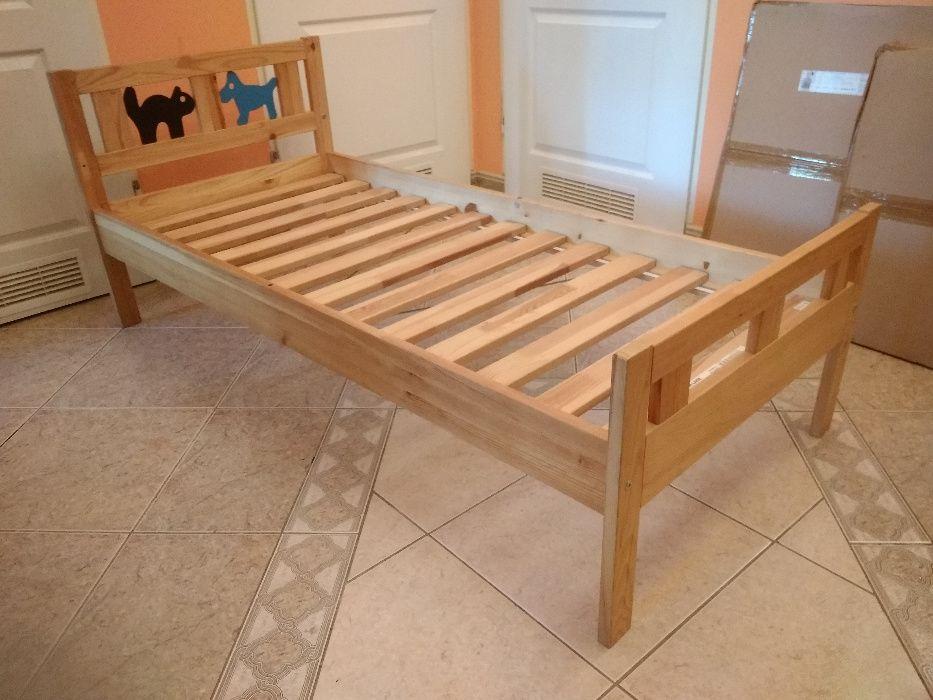Łóżko dziecięce Ikea Kritter 160x70 Warszawa - image 1