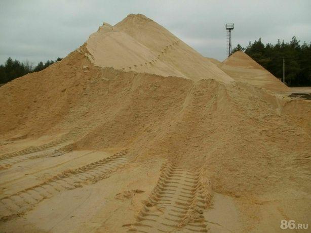 Песок белый карьерный, желтый
