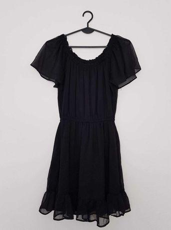 Czarna sukienka letnia H&M