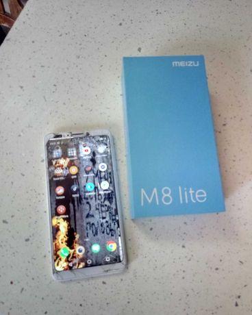 Смартфон Meizu M8 Lite 3-32 рабочий на восстановление или запчасти