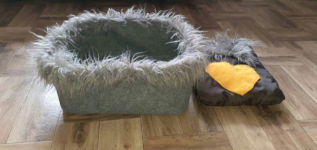 Лежак-домик для кошки ,собаки.Ручная работа.