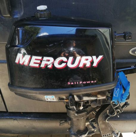 Silnik Mercury 4km 4T echosonda Lowrence