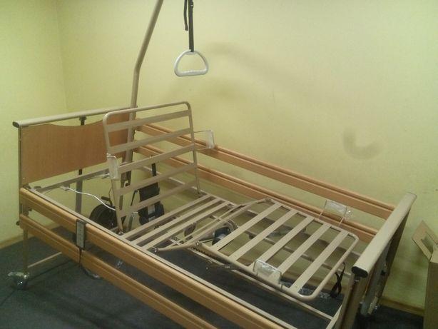Łóżko rehabilitacyjne elektryczne z pilotem Vermeiren Luna Basic