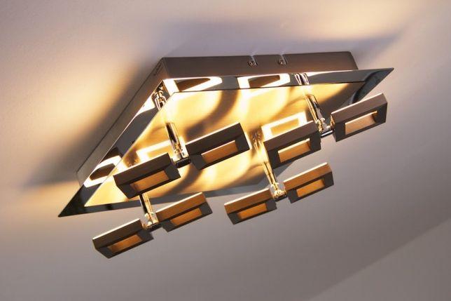 Nowoczesna lampa LED TWINS Paul Neuhaus 6700-55 regulowany plafon
