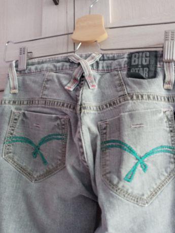 Spodnie dźinsowe Big Stara, stan idealny, rozm S