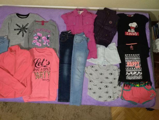 Sprzedam komplet ubrań dla dziewczynki rozm 152
