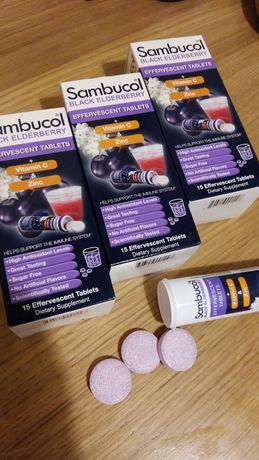 Шипучие таблетки Sambucol