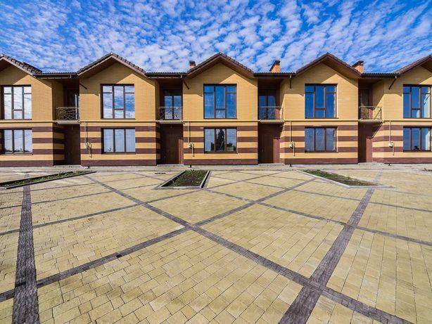 Новый таунхаус 130м2 пос.Жуковского - 4 спальни, панорамные окна
