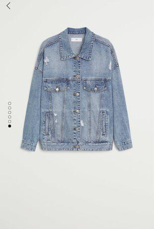 Джинсовый пиджак, Объемная  куртка из денима