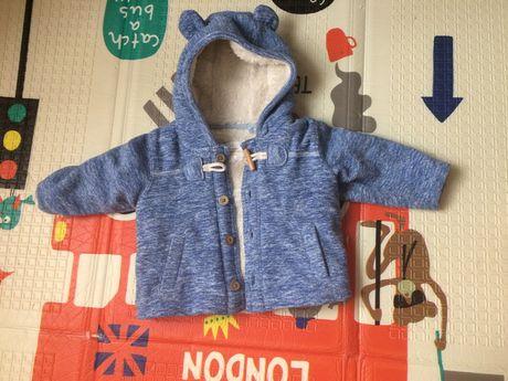 Флисовая куртка с утеплителем NEXT 6-9 месяцев