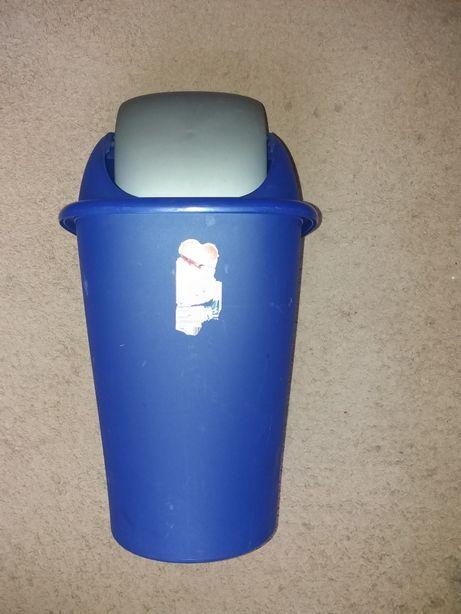 Ведро мусорное пластиковое
