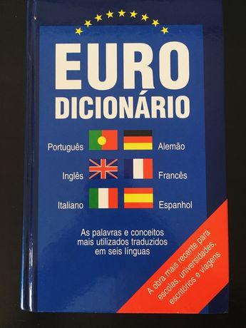 Eurodicionário - Dicionário de PT, AL, ING, FR, ESP e IT