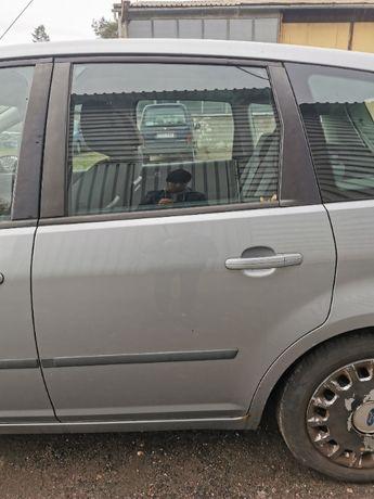 Drzwi lewe tylne Ford C-max lakier D1 Stan BDB