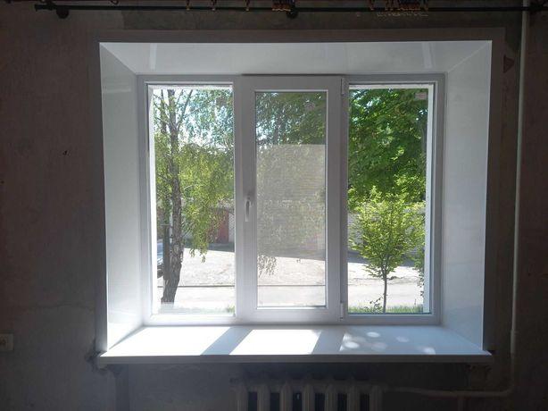 Окна двери балконы откосы