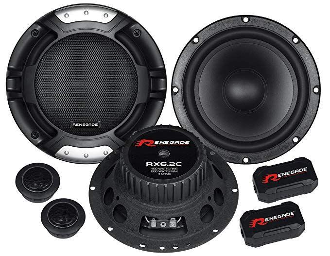 Renegade RX6.2C - głośniki odseparowane 165mm 100W Bas Audio Skrzyszów Skrzyszów - image 1