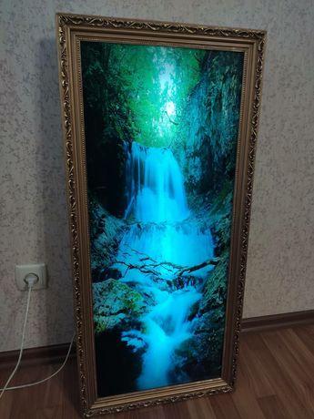 Картина с подсветкой и звуком