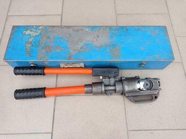 Profesjonalna praska hydrauliczna do kabli elektr. + matryce kamienie