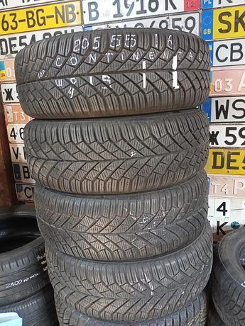 Зимні шини 205/55 r16 continental комплект