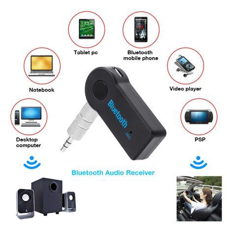 Передатчик Bluetooth AUX адаптер Car Kit mp3 Receiver блютуз 3.5мм jk]