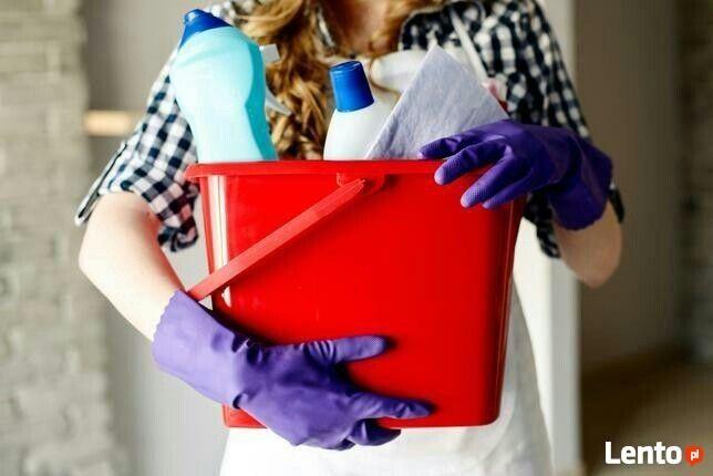 Sprzątanie domu i mieszkania