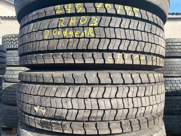 2шт нові шини 245/70R19.5 Good Year RHD3