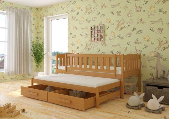 Łóżko dziecięce 2-osobowe Hanka! 7 dni!