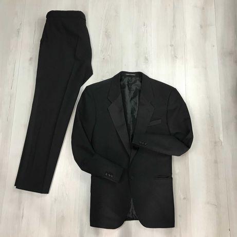 L-XL Смокинговый Костюм смокинг классический пиджак брюки Green Woods